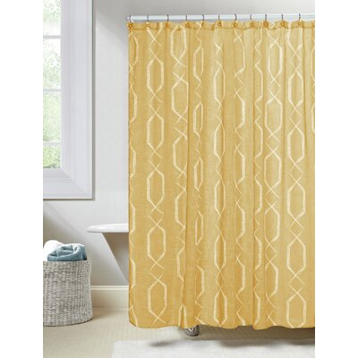 Arcadia Shower Curtain Color: Amber