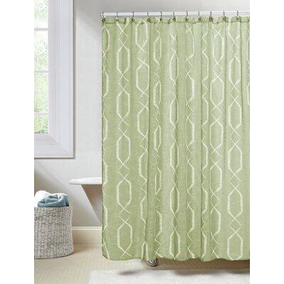 Arcadia Shower Curtain Color: Sage