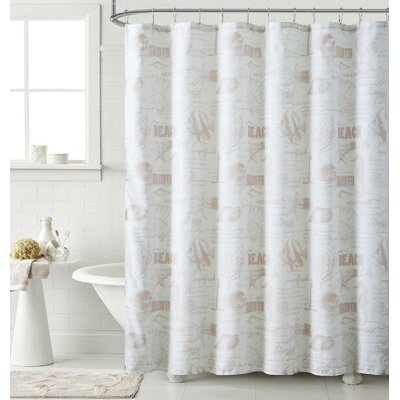 Ray Printed Shower Curtain