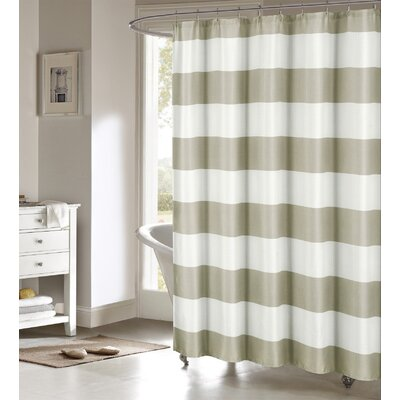 Nieman Shower Curtain Color: Sand