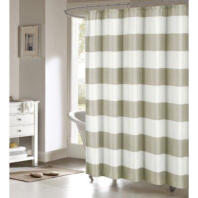 Nieman Shower Curtain Color: Sand