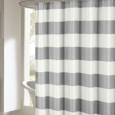 Nieman Shower Curtain Color: Gray