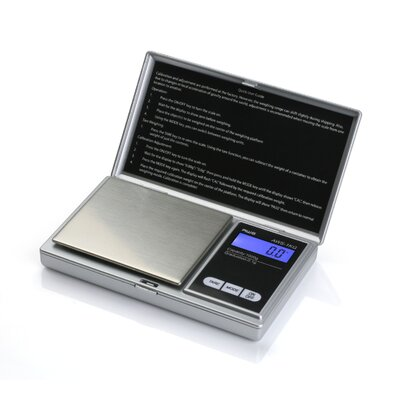 Digital Pocket Scale Color: Silver