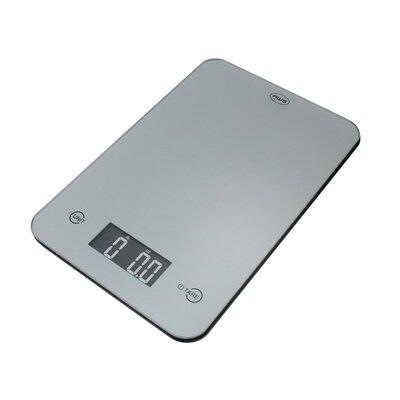 Thin Digital Kitchen Scale Color: Silver