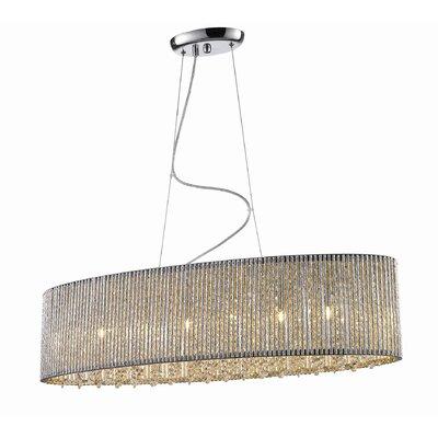 Sorpetaler Leuchten Design-Pendelleuchte 6-flammig Prince