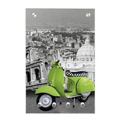 Contento Magnet-Schlüsseltafel Rom