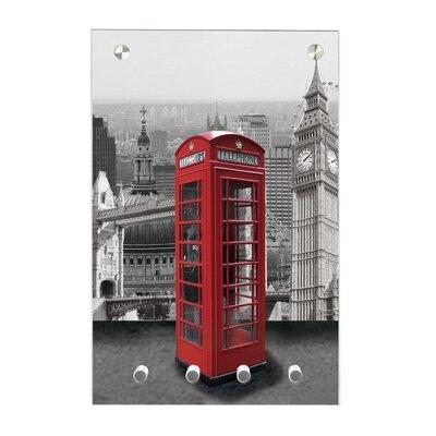 Contento Magnet-Schlüsseltafel London
