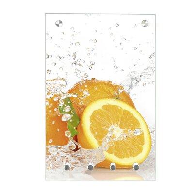 Contento Magnet-Schlüsseltafel Orange