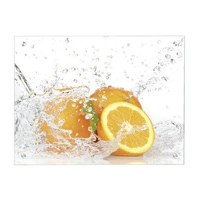 Contento Magnettafel Orange
