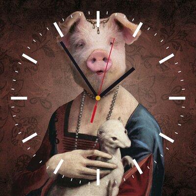 Contento Analoge Wanduhr My Clock