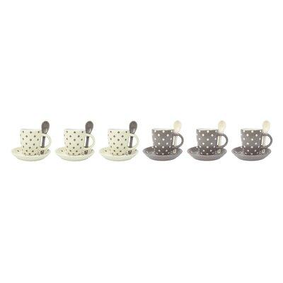 Contento Espressotassen-Set Puntini