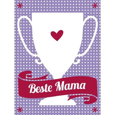 """Contento Glasbild """"Beste Mama"""", Memorabilien"""