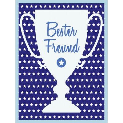 """Contento Glasbild """"Bester Freund"""", Memorabilien"""
