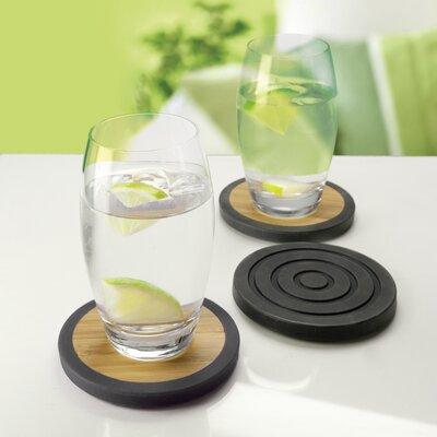 Contento 4-tlg. Glasuntersetzer-Set Tip-Top