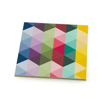 Contento 4-tlg. Untersetzer-Set Dreiecke