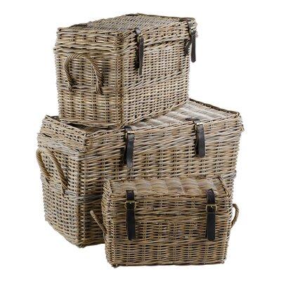 Inwood Kubu 3-Piece Storage Chest Set