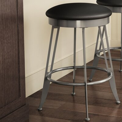 "Library Luxe Style 30"" Swivel Bar Stool"