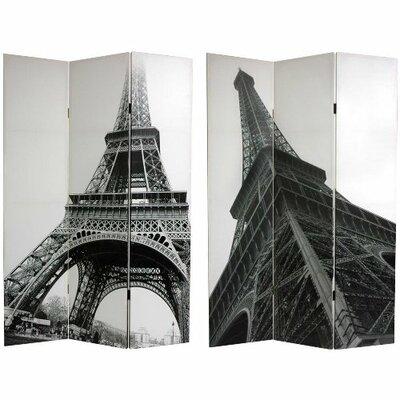 Eugen Eiffel Tower 3 Panel Room Divider