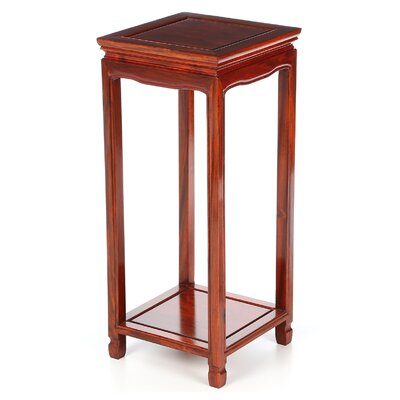 Oriental Multi-Tiered Plant Stand Color: Honey