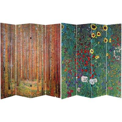 Jamaica Avenue Tannenwald Farm Garden 4 Panel Room Divider