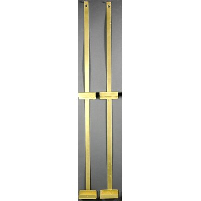 Clementina Room Divider Color: Gold