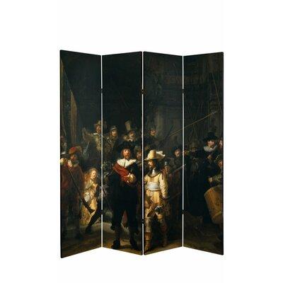 Sarratt Rembrandt 4 Panel Room Divider