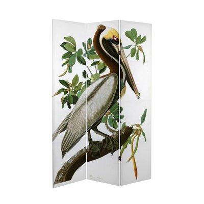 Fidler Audubon Pelican 3 Panel Room Divider