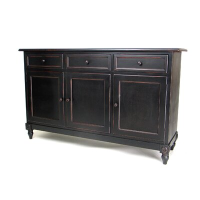 Oriental Furniture Brookfield 3 Drawer Console Cabinet