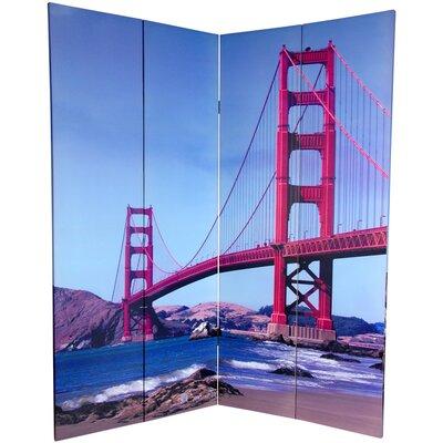 Bridges 4 Panel Room Divider