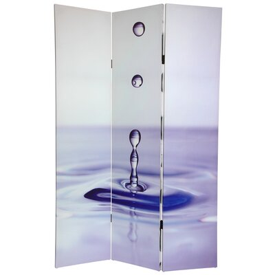 Water 3 Panel Room Divider