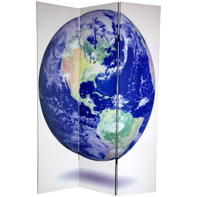 Earth 3 Panel Room Divider