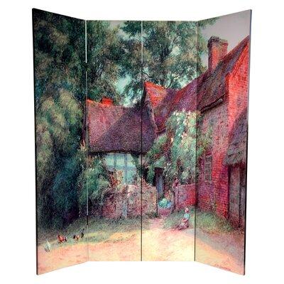 Jalbert 4 Panel Room Divider