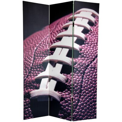 Football 3 Panel Room Divider