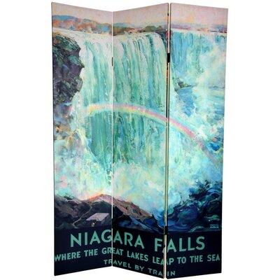 Niagara Falls 3 Panel Room Divider