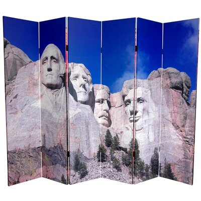 Monuments 6 Panel Room Divider
