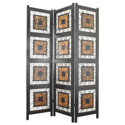 Royster 3 Panel Room Divider