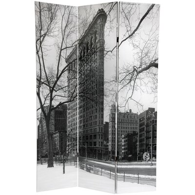 New York City 3 Panel Room Divider