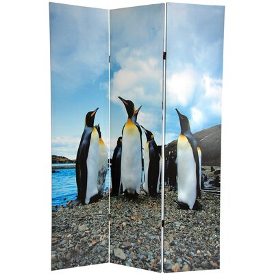 Penguin 3 Panel Room Divider