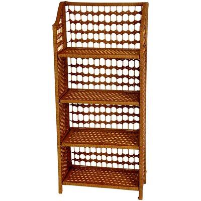 """Oriental Furniture 44"""" Standard Bookcase"""