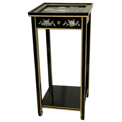 Oriental Multi-Tiered Plant Stand