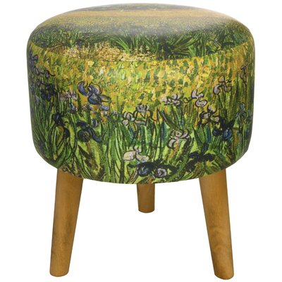 Van Gogh Irises Stool