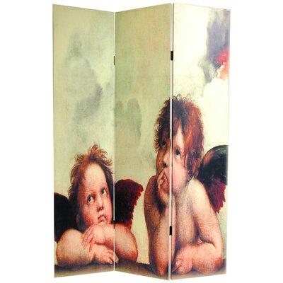 Plott Cherubs 3 Panel Room Divider