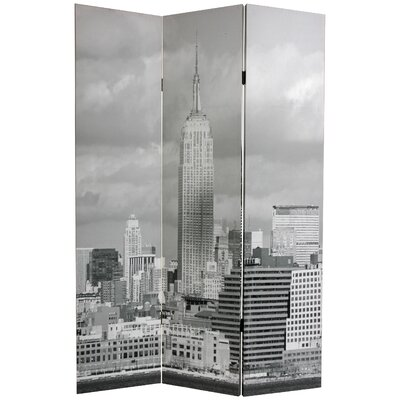 New York Scenes 3 Panel Room Divider