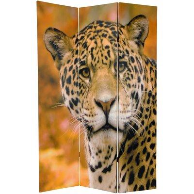 Leopard 3 Panel Room Divider