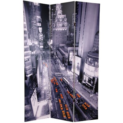 New York State of Mind 3 Panel Room Divider