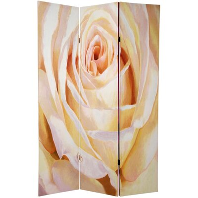 Roses 3 Panel Room Divider