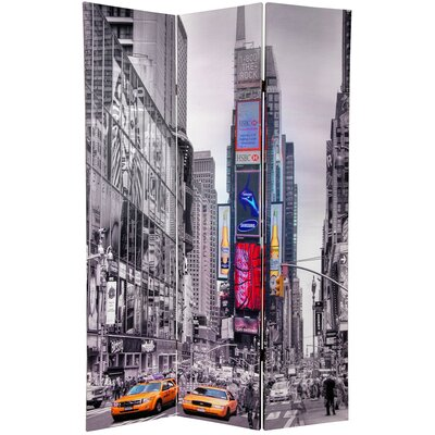 New York Taxi 3 Panel Room Divider