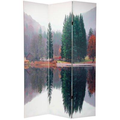 Trees 3 Panel Room Divider