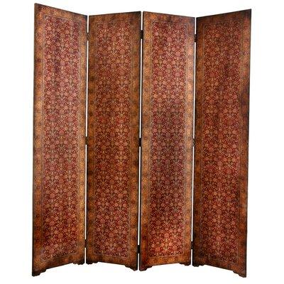 Clair Rococo 4 Panel Room Divider