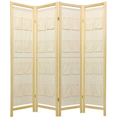 Sandstrom Pockets Shoji Room Divider Number of Panels: 4